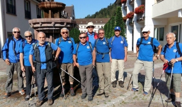 Ausflug der Trimm Dich-Abteilung am 26. - 28.6.2018 nach Bad Teinach / Bad Wildbad